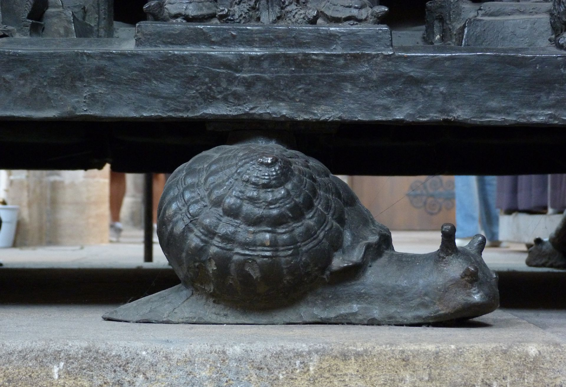 Sebaldusgrab Schnecke