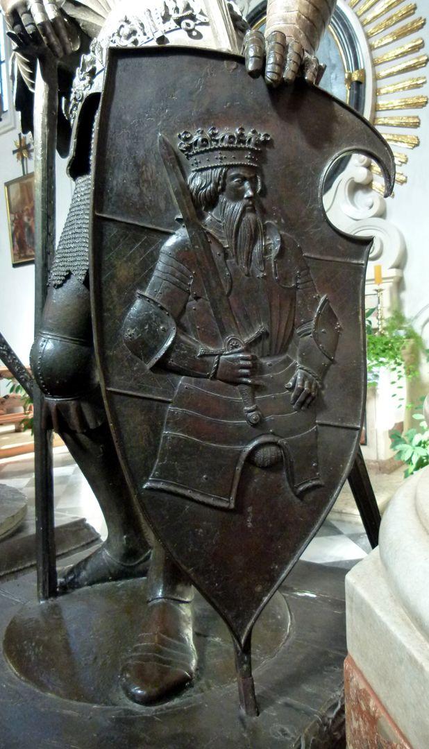 König Theoderich (Innsbruck) Wappen