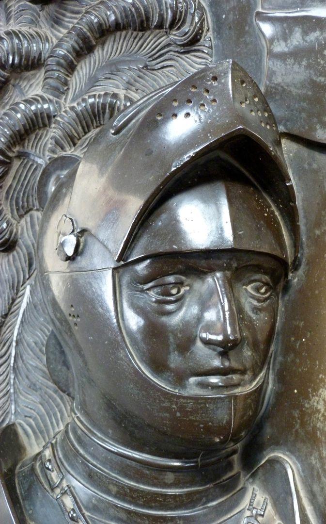 Tumba des Ehepaares Hermann und Elisabeth von Henneberg Portrait des Hermann VIII. von Henneberg