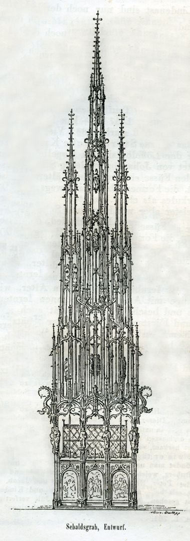 Sebaldusgrab, Originalentwurf