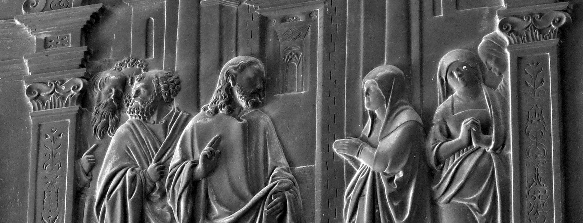 Die Kanaanäische Frau mittleres Bildfeld