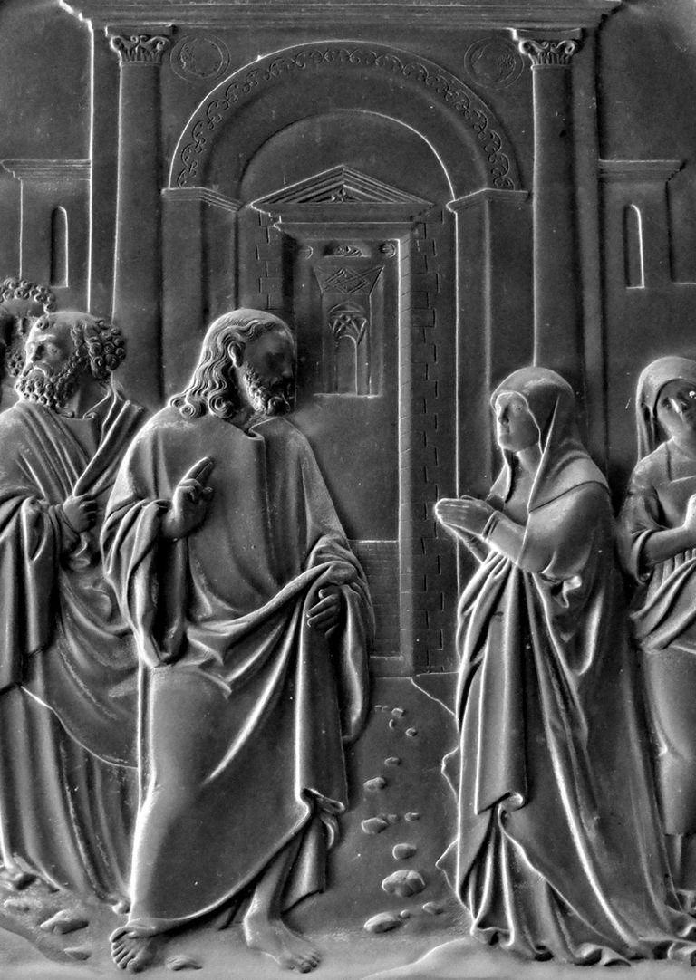 Die Kanaanäische Frau Jesus mit der Kanaanäischen Frau