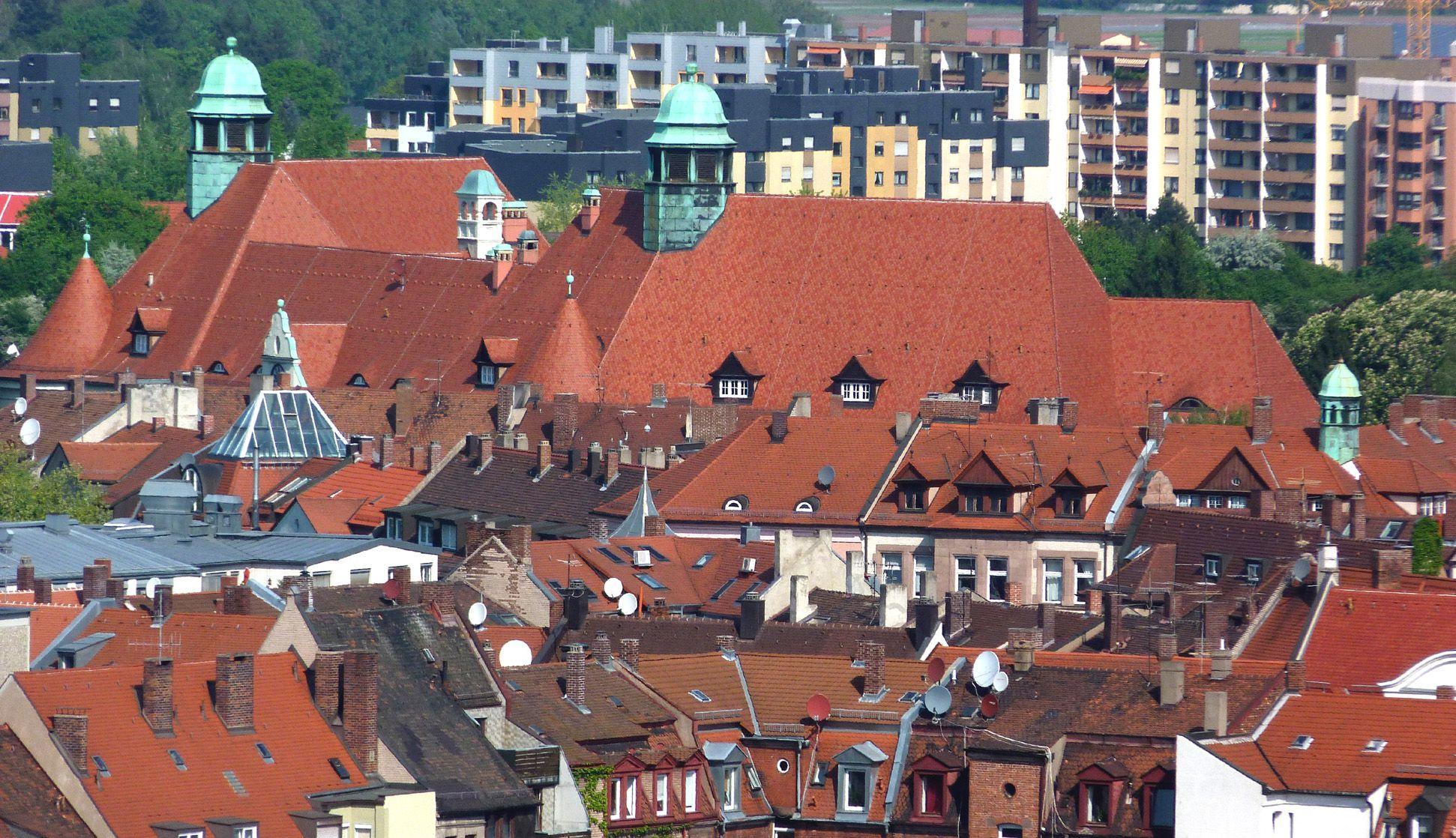 Peter-Vischer-Schule Dachsituation