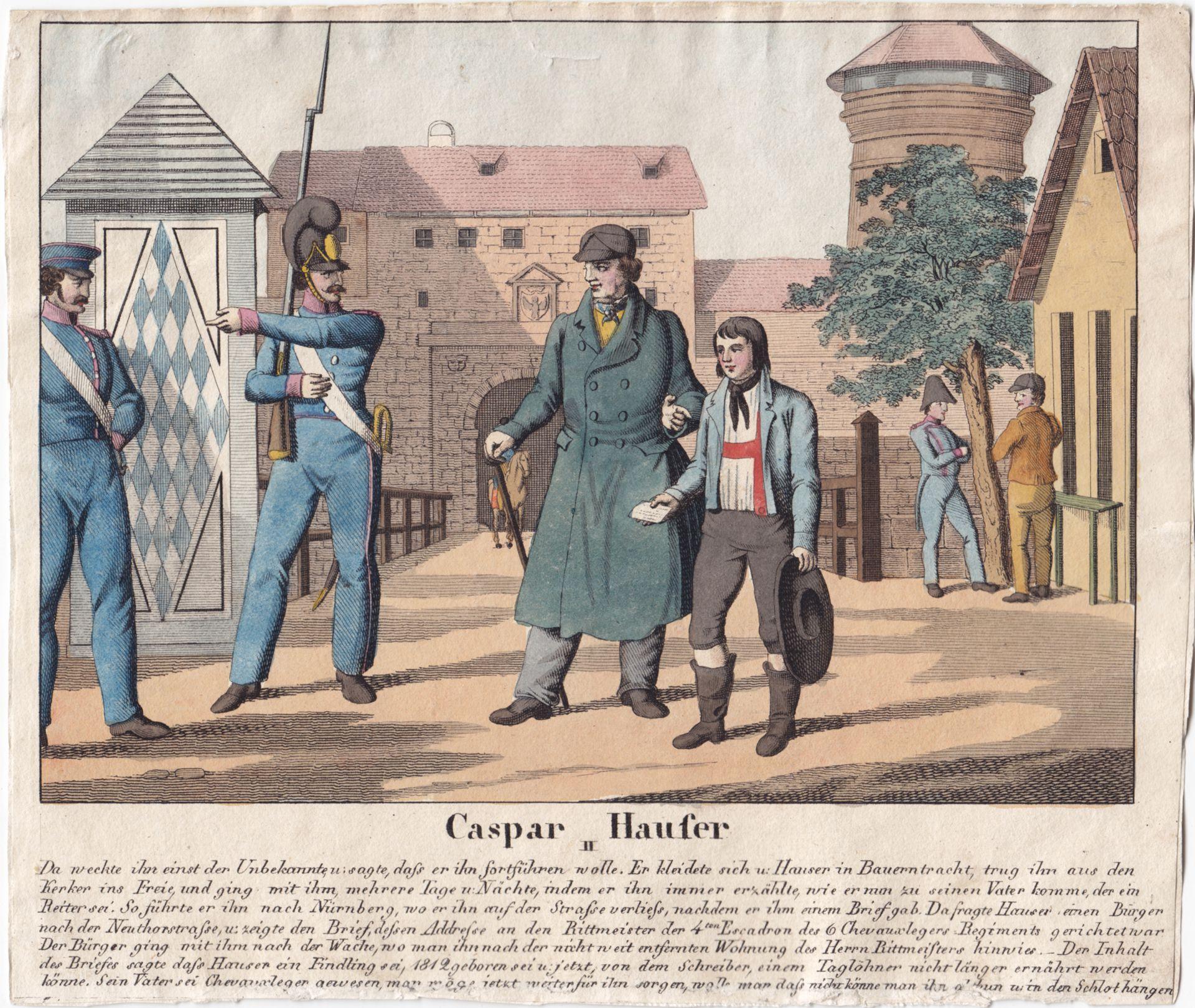 Caspar Hauser II Gesamtansicht
