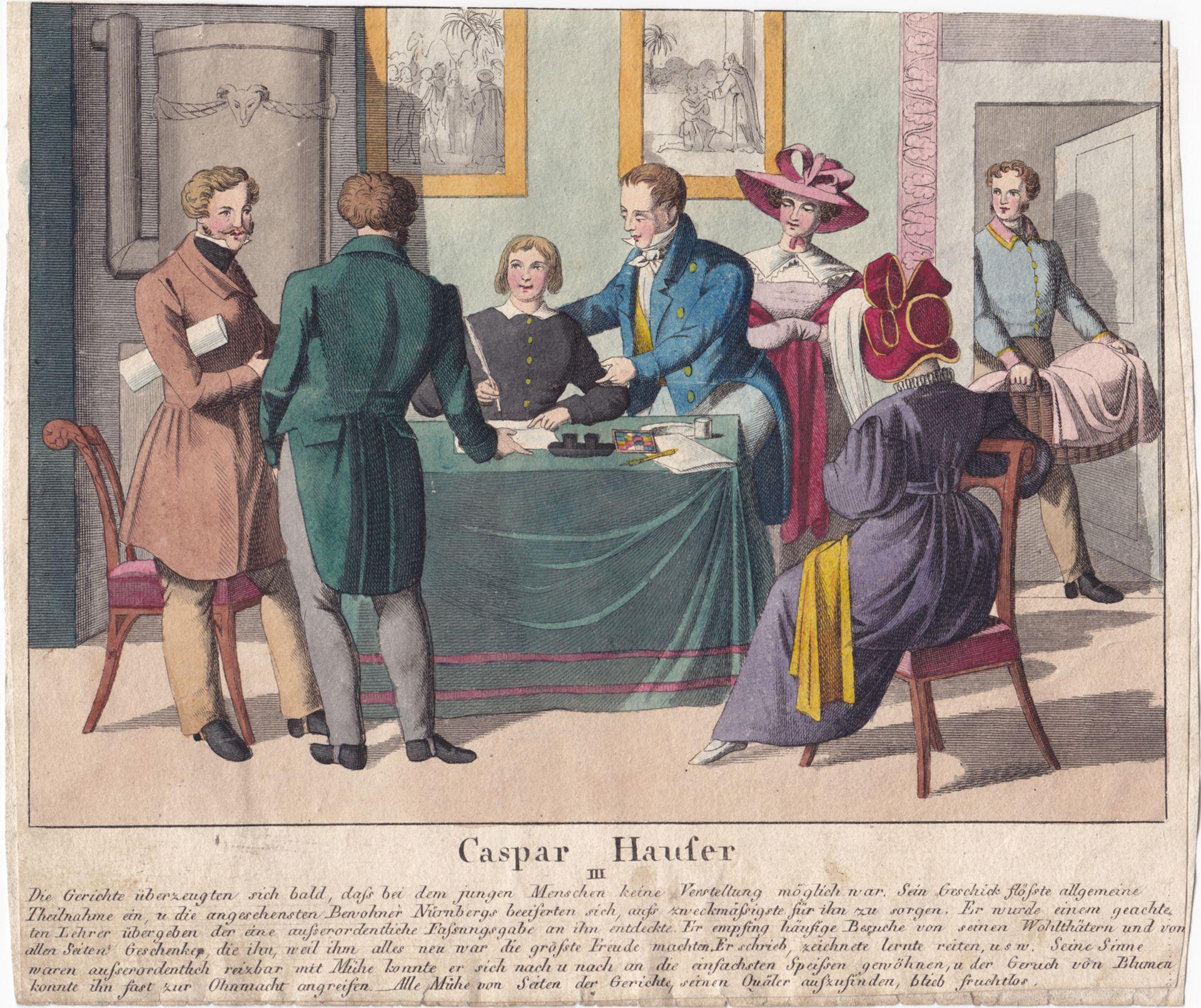 Caspar Hauser  III Gesamtansicht