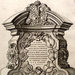 Kanzeln der Museumsbrücke mit Inschriften