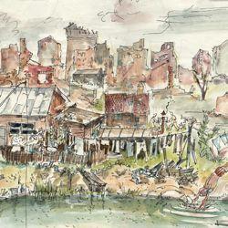 Optimismus zwischen Ruinen