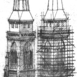 Sankt Sebalduskirche in Nürnberg, 600 Jahre Hallenchor, 1379 - 1979