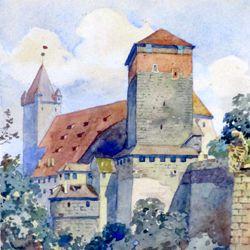 Nürnberger Fünfeckturm und Kaiserstallung