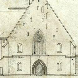 Entwurf zur Neugestaltung der Jakobskirche in Nürnberg