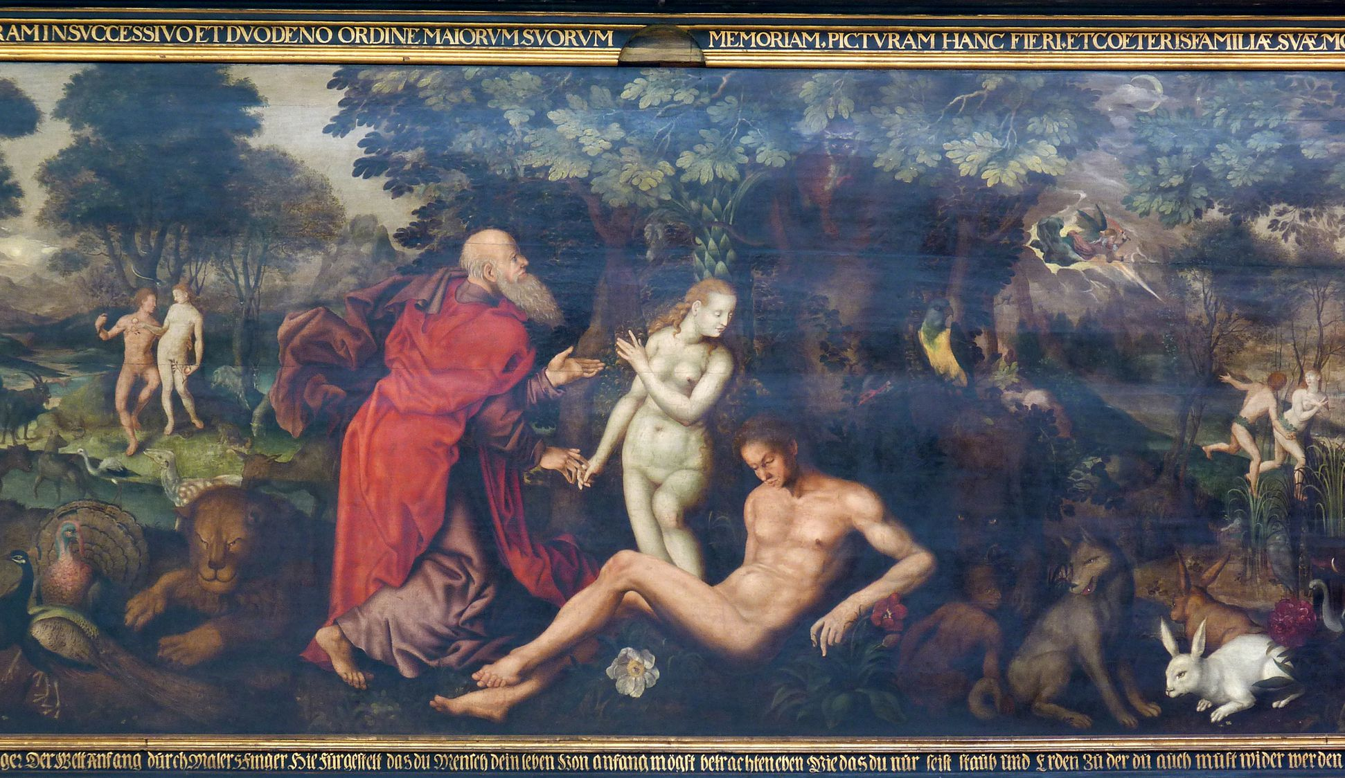 Gedächtnisbild der Familie Behaim Erschaffung der Eva