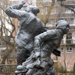 Tanzendes Bauernpaar