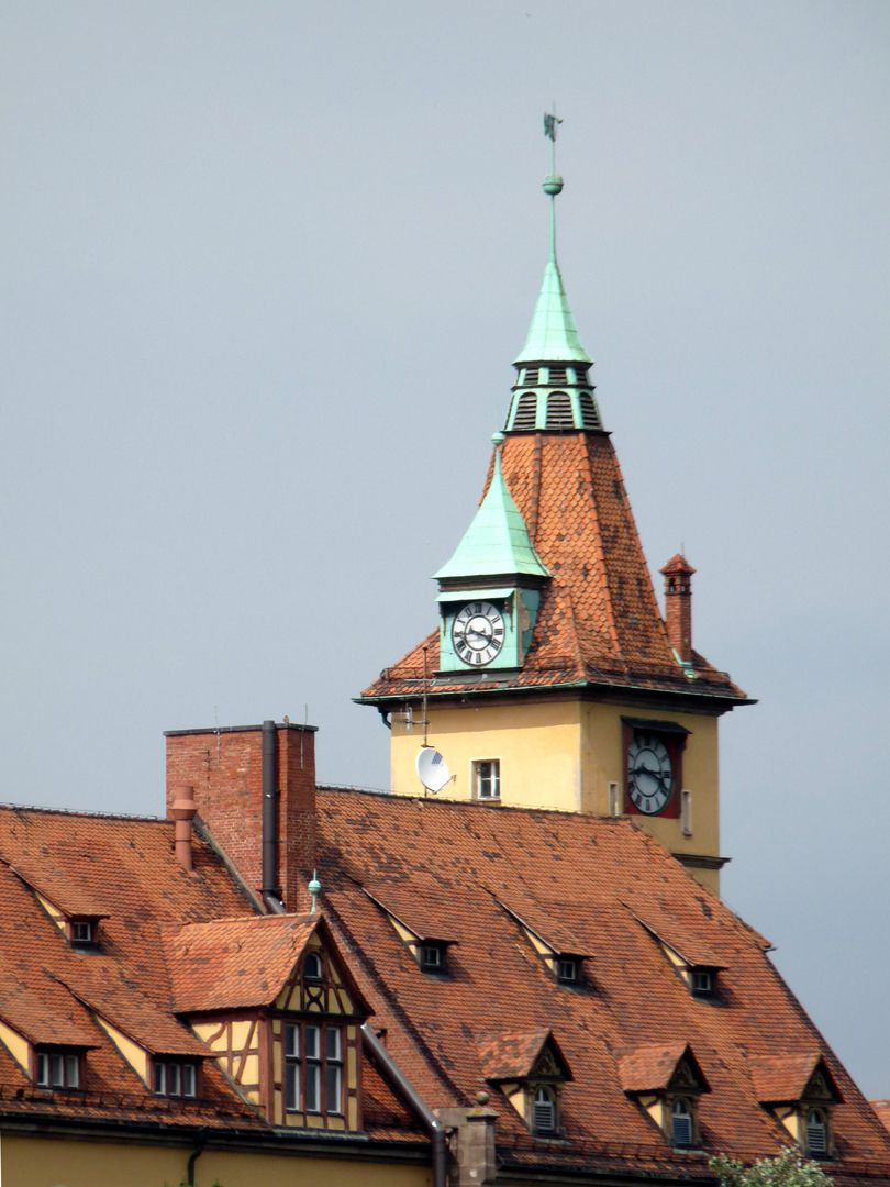 Sebastiansspital Kapellenturm  nach dem Vorbild der alten Universität Altdorf