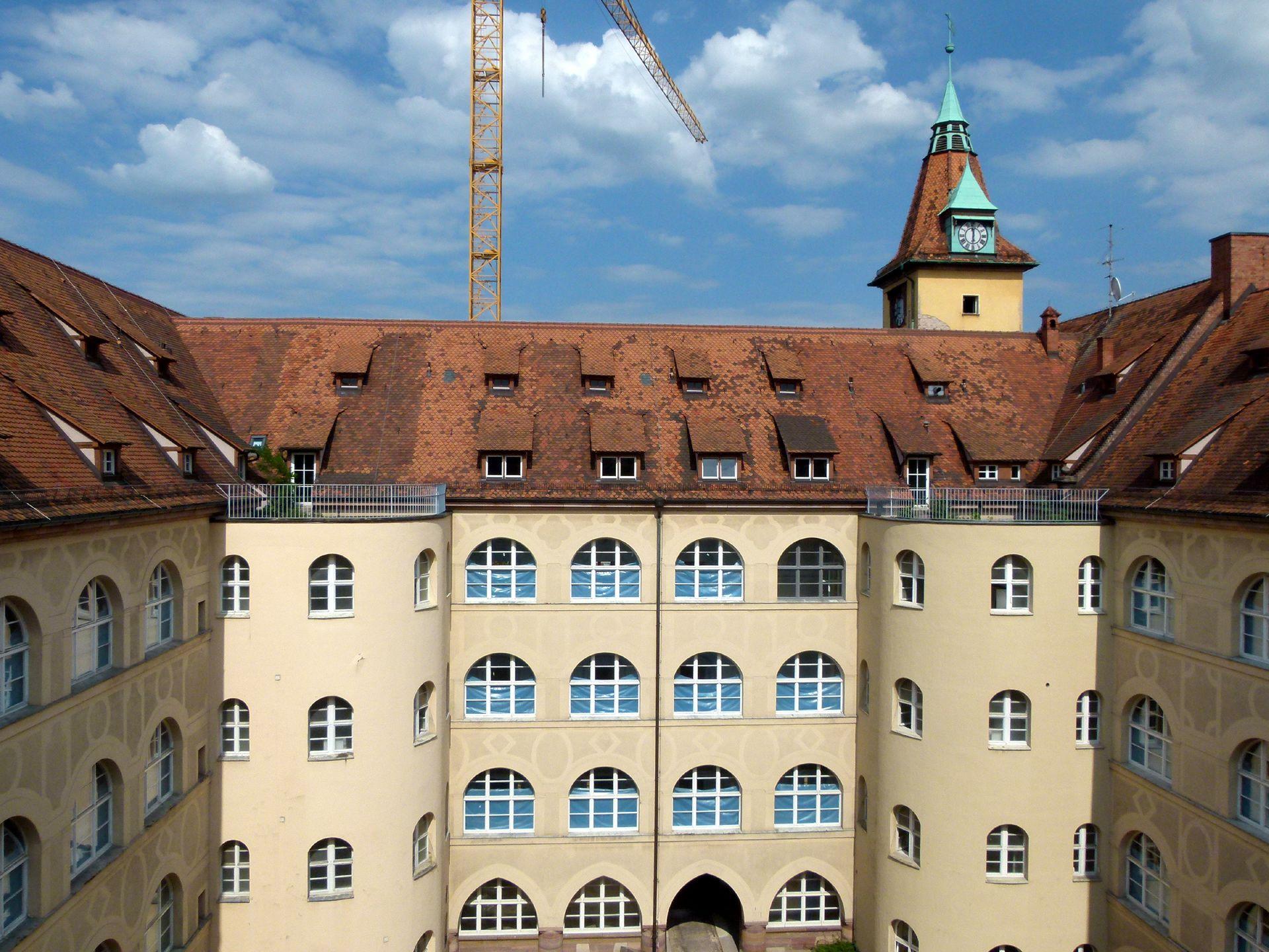 Sebastiansspital Innenhof