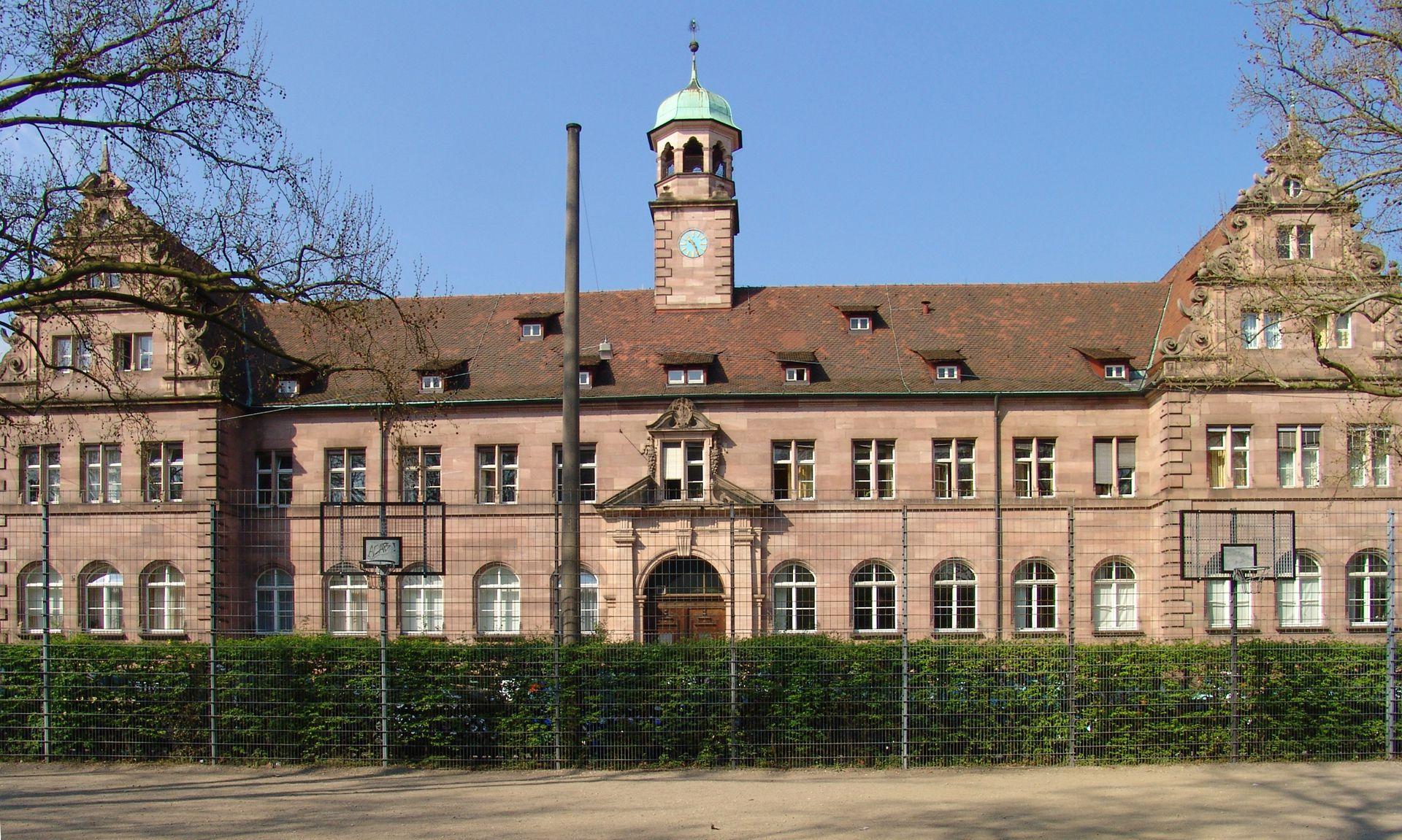 Hauptgebäude des Klinikum Nord Frontalansicht