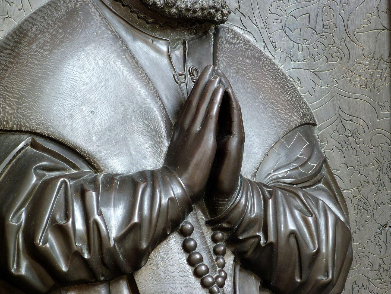 Walter von Cronberg betende Hände