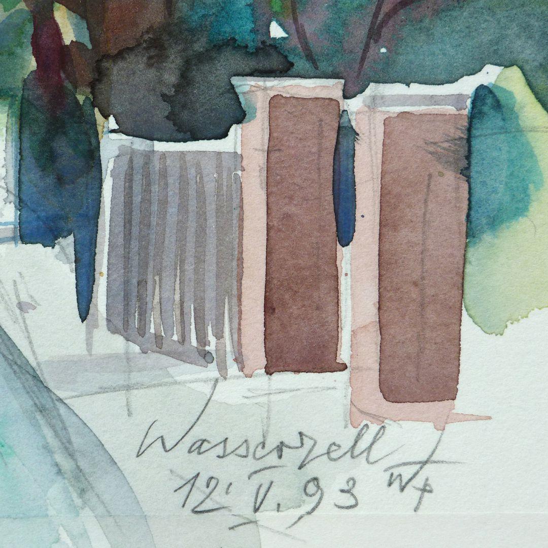 Wasserzell bei Spalt Signatur