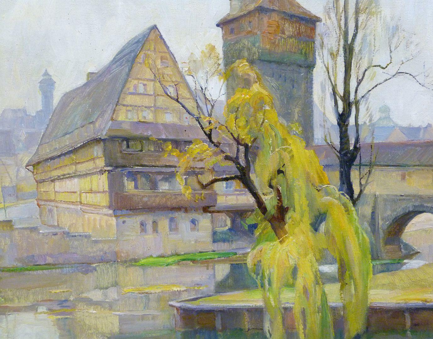 Weinstadel Weinstadel und Wasserturm mit Henkerwohnung über der Pegnitz