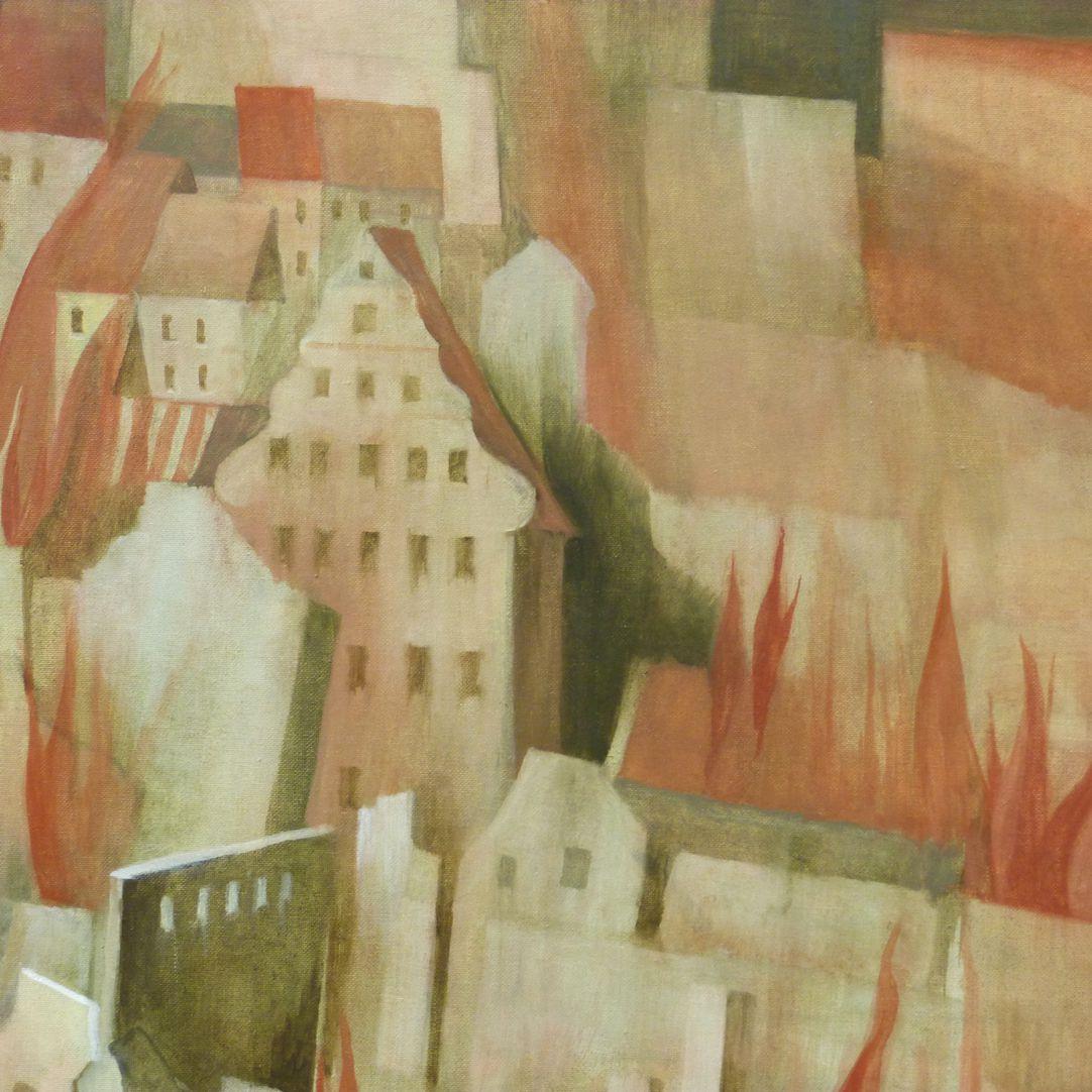 2. Januar 1945 Detail mit Fembohaus