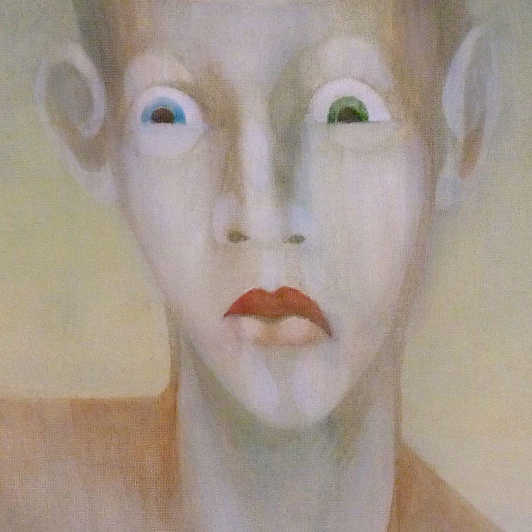 Der Architekt Gesicht mit Iris-Heterochromie