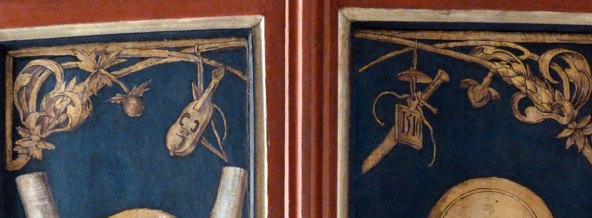 Wendelsteiner Dreikönigsaltar Hauptschrein mit Datierung von 1510