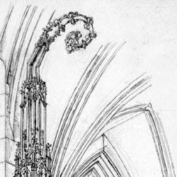 Das Sacramenthäuschen in der Kirche zu St. Lorenz