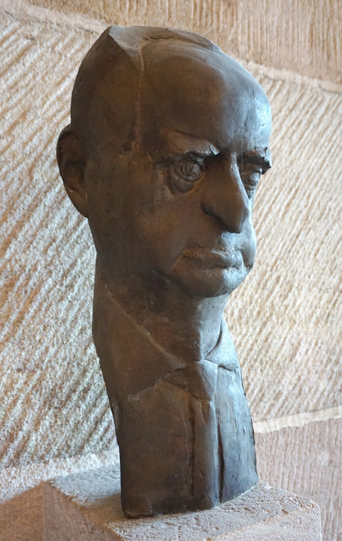 Büste des Hermann Kesten