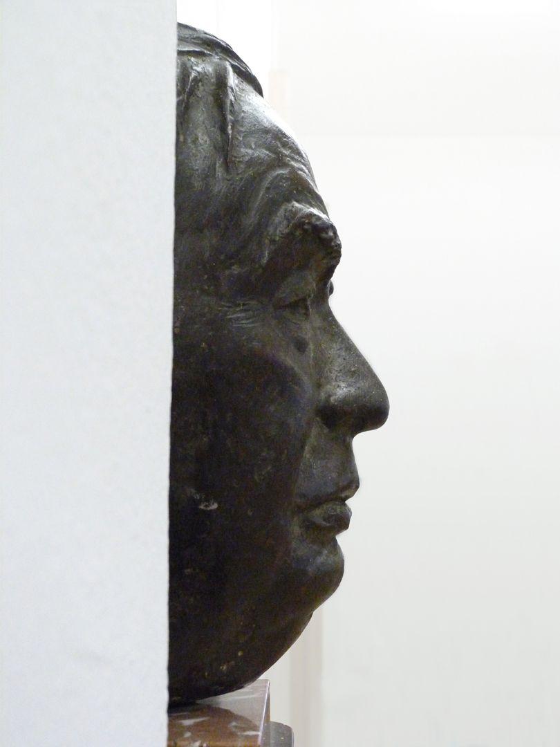Wilhelm Vershofen Ansicht von links