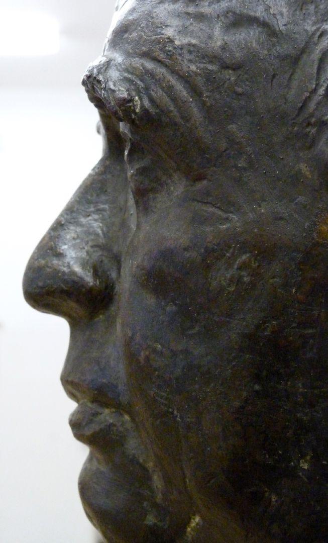 Wilhelm Vershofen Detailansicht von rechts