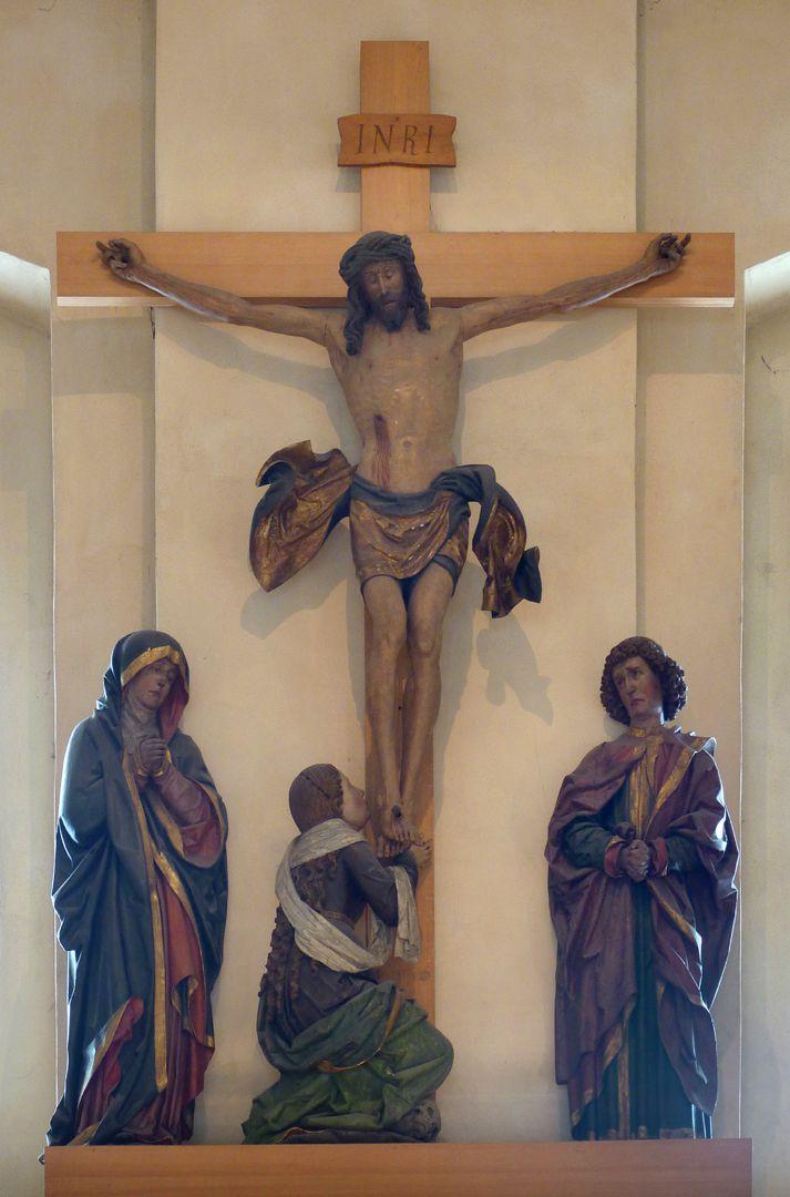 Kreuzigungsgruppe Gesamtansicht