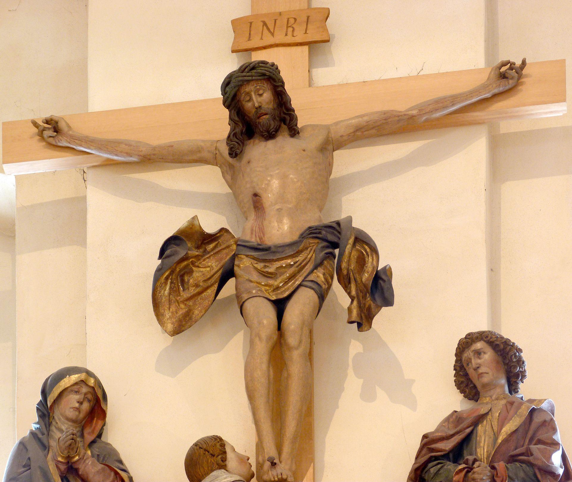 Kreuzigungsgruppe Detail