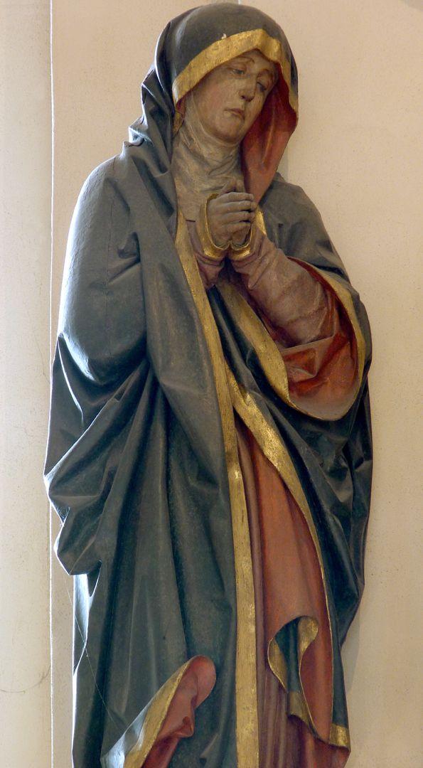 Kreuzigungsgruppe Maria
