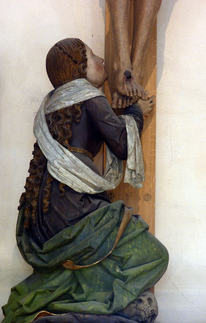 Kreuzigungsgruppe Maria Magdalena