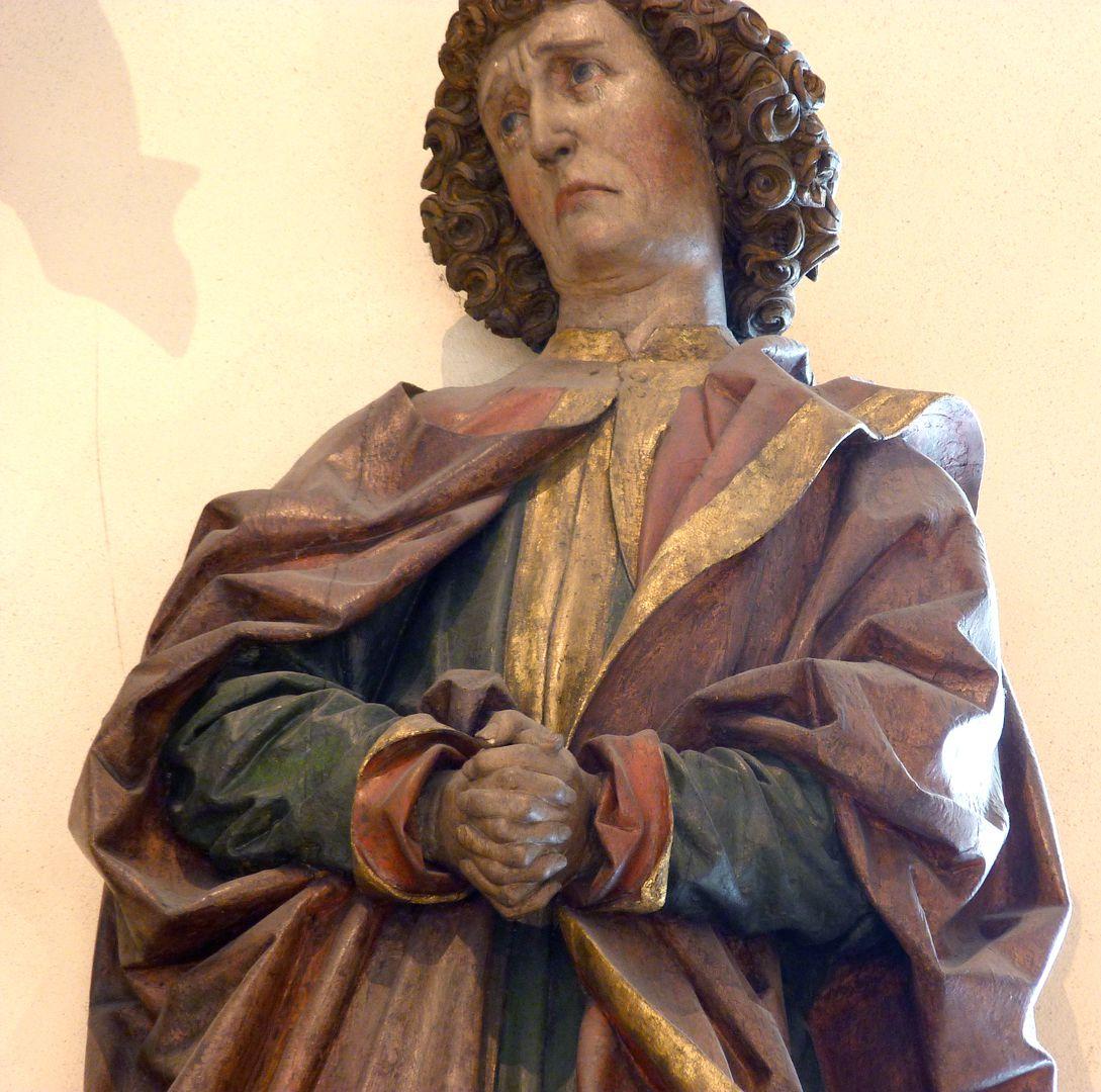 Kreuzigungsgruppe Johannes