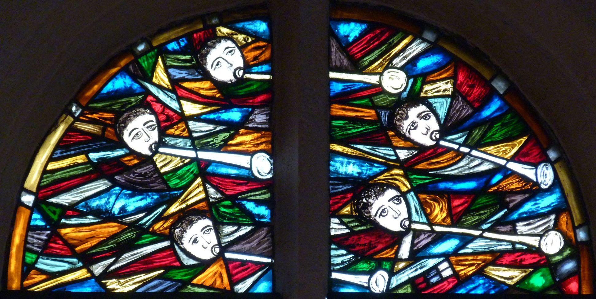 St. Bartholomäus, Chorfenster n II Fenster n II, Fenster aus den 1950er Jahren