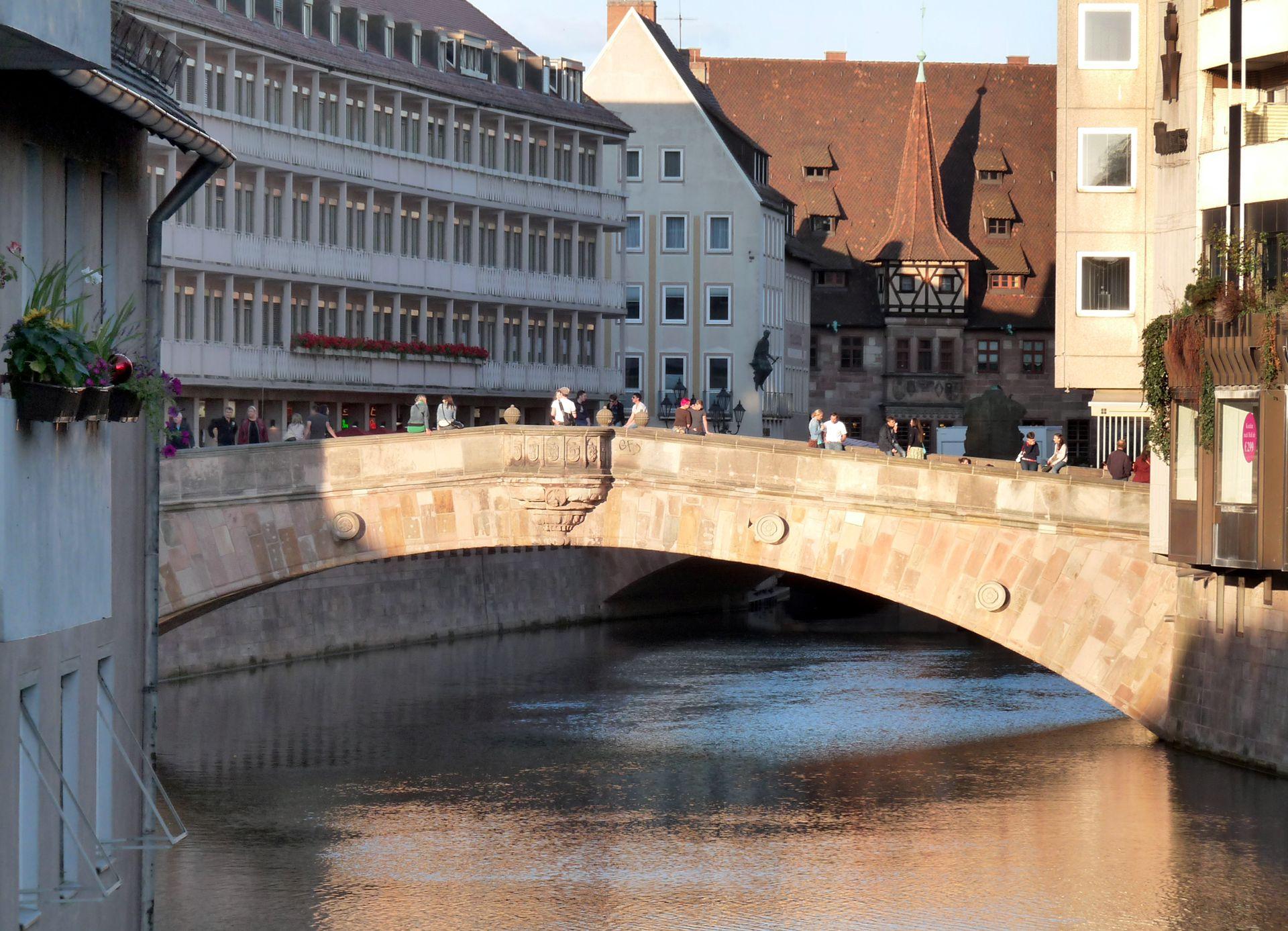 Fleischbrücke Fleischbrücke von Westen