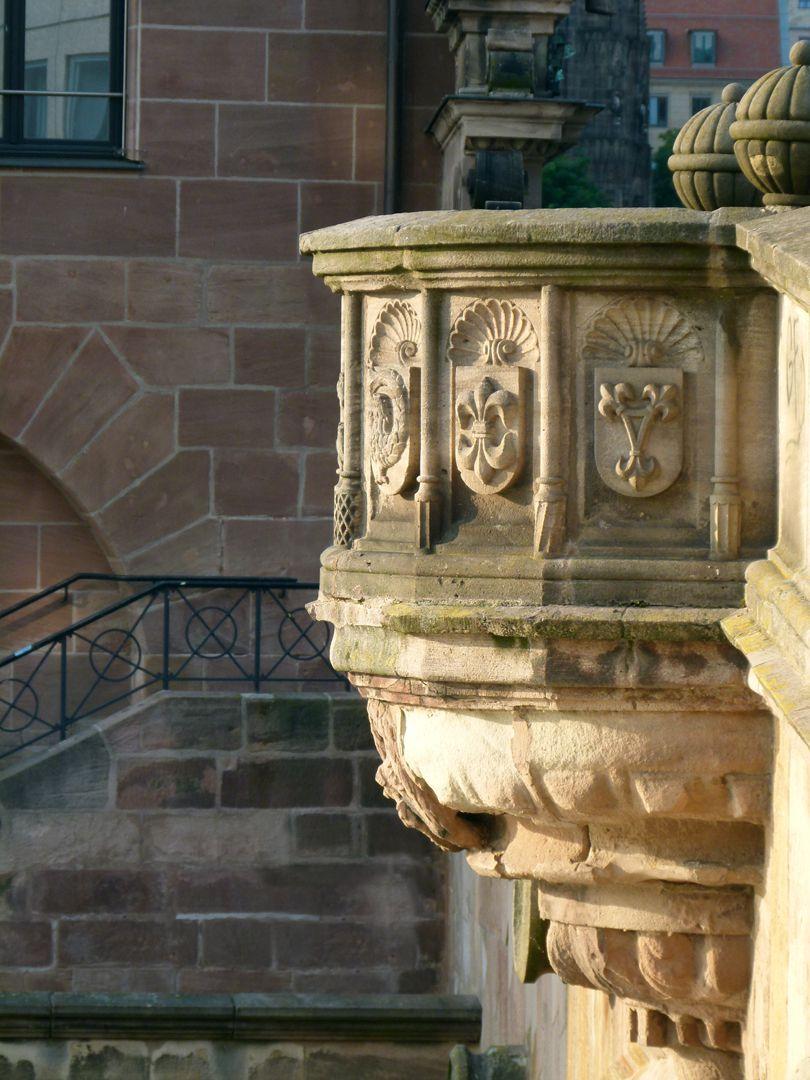 Fleischbrücke westlicher Wappenkorb