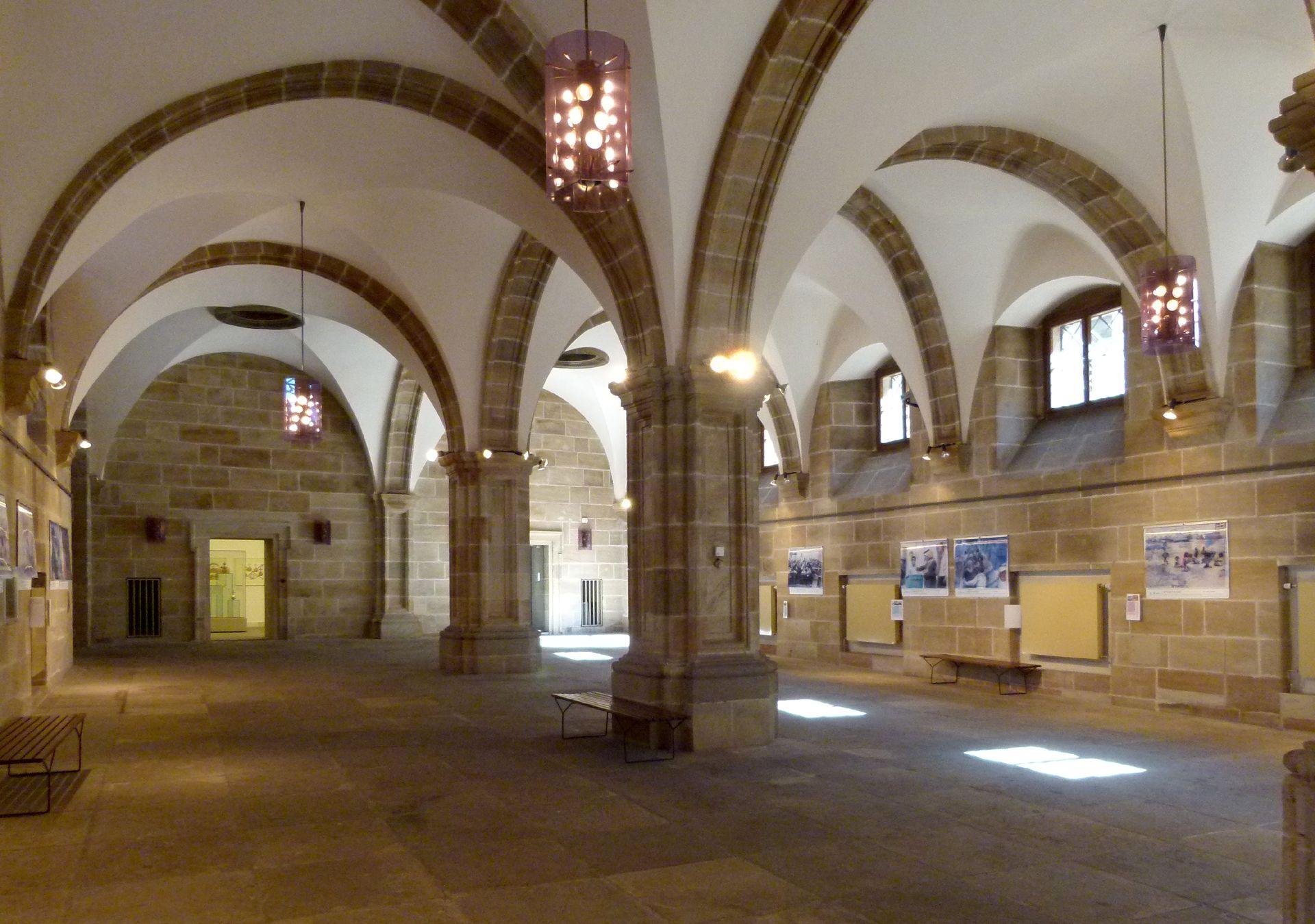 Rathaus, Wolffscher Bau Ehrenhalle