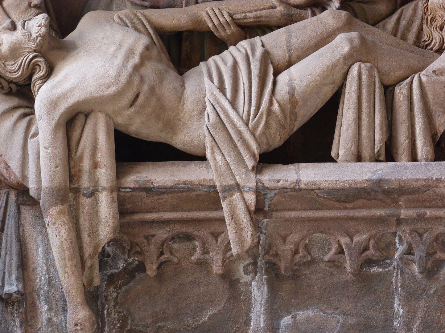Grablegung Christi Detail Mittelteil