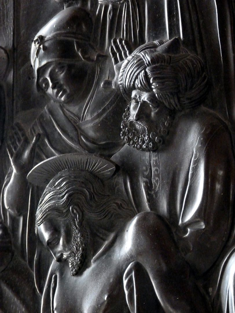 Beweinung Christi: Epitaph Eisen-Behaim Studie der Köpfe