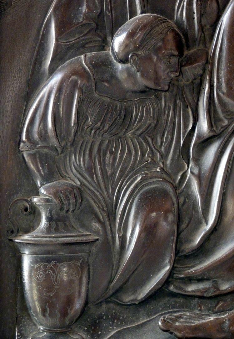 Beweinung Christi: Epitaph Eisen-Behaim kniende Frau