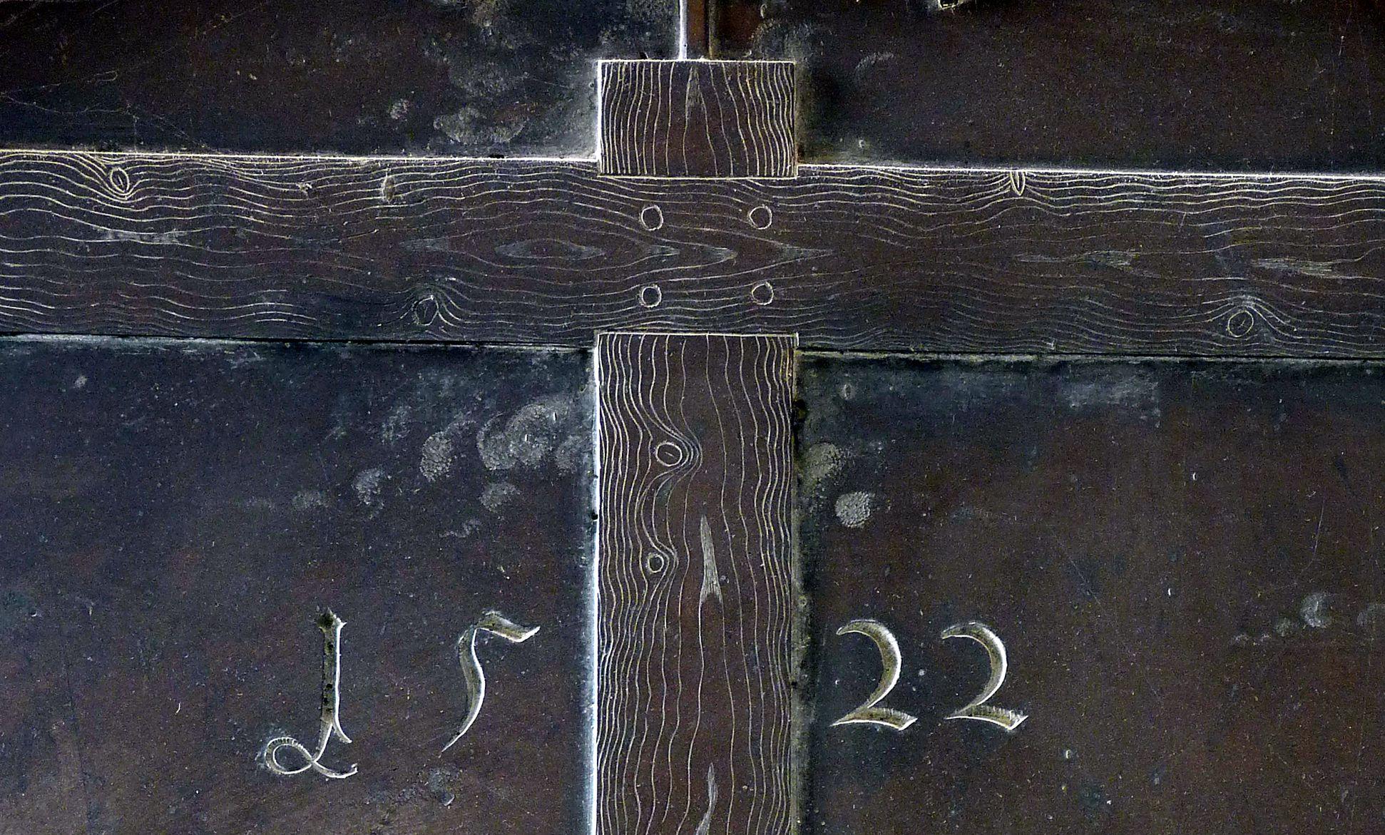 Beweinung Christi: Epitaph Eisen-Behaim Kreuz, bez. 1522