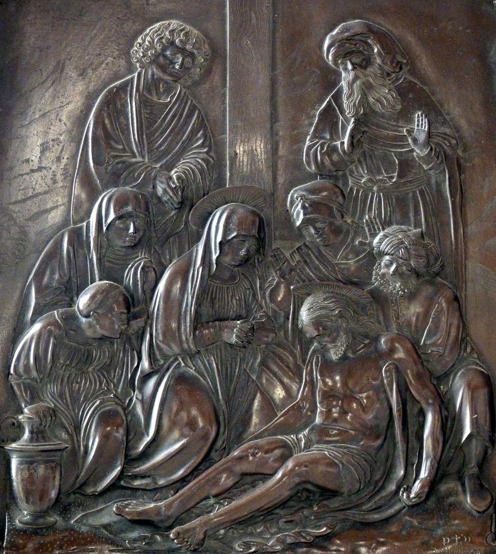 Beweinung Christi: Epitaph Eisen-Behaim Szene der Beweinung Christi