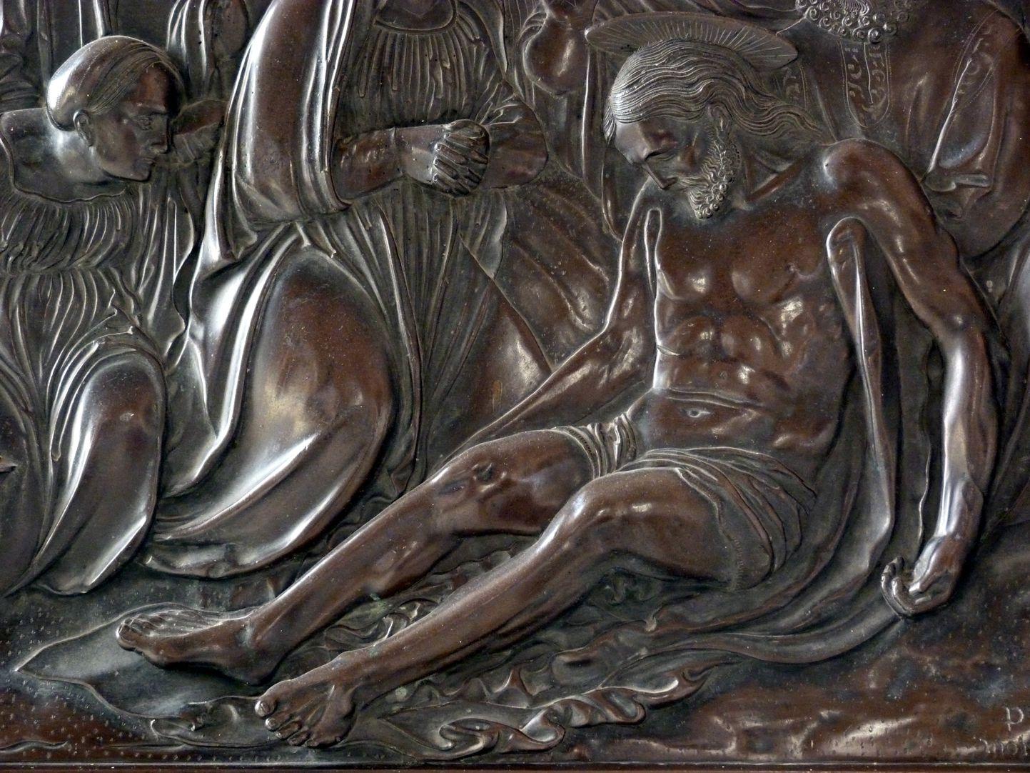 Beweinung Christi: Epitaph Eisen-Behaim Beweinung Christi, Detail