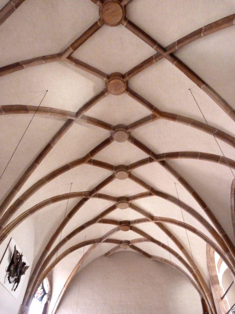 Wolfgangskapelle Netzrippengewölbe