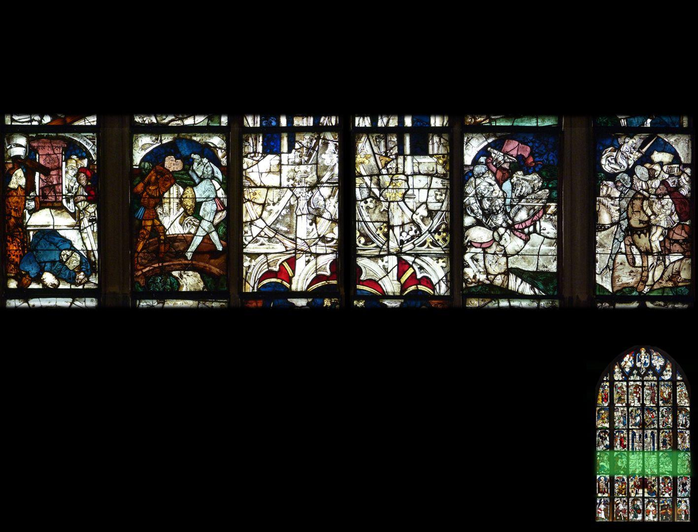 Kaiserfenster 3. Zeile