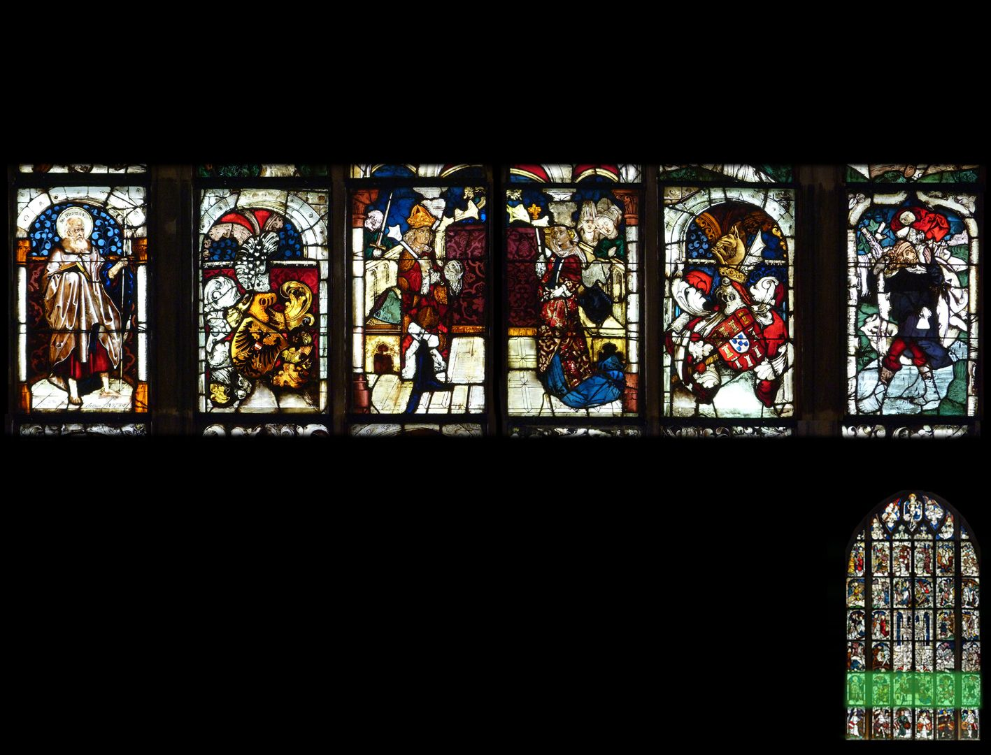 Kaiserfenster 2. Zeile