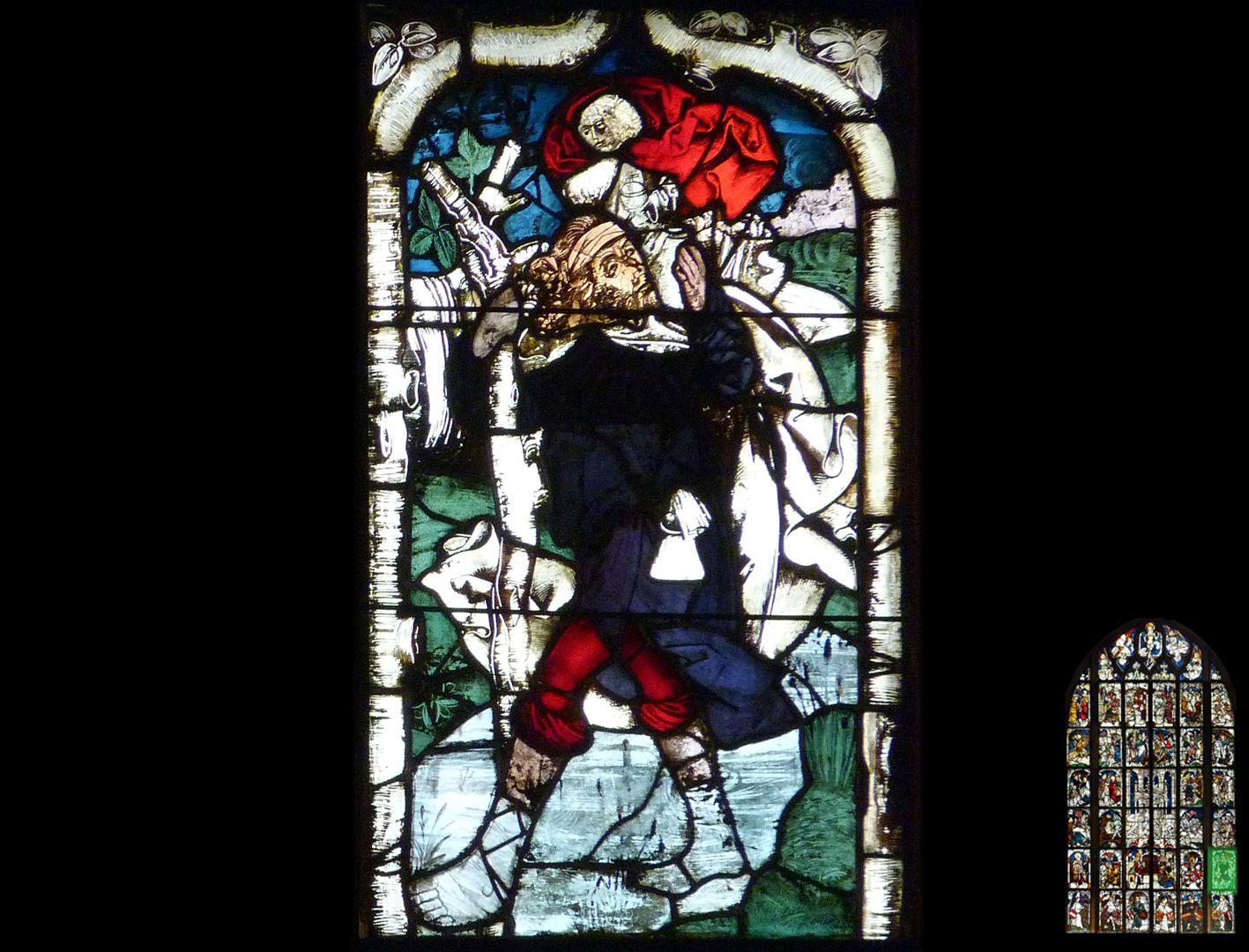 Kaiserfenster Christopherus