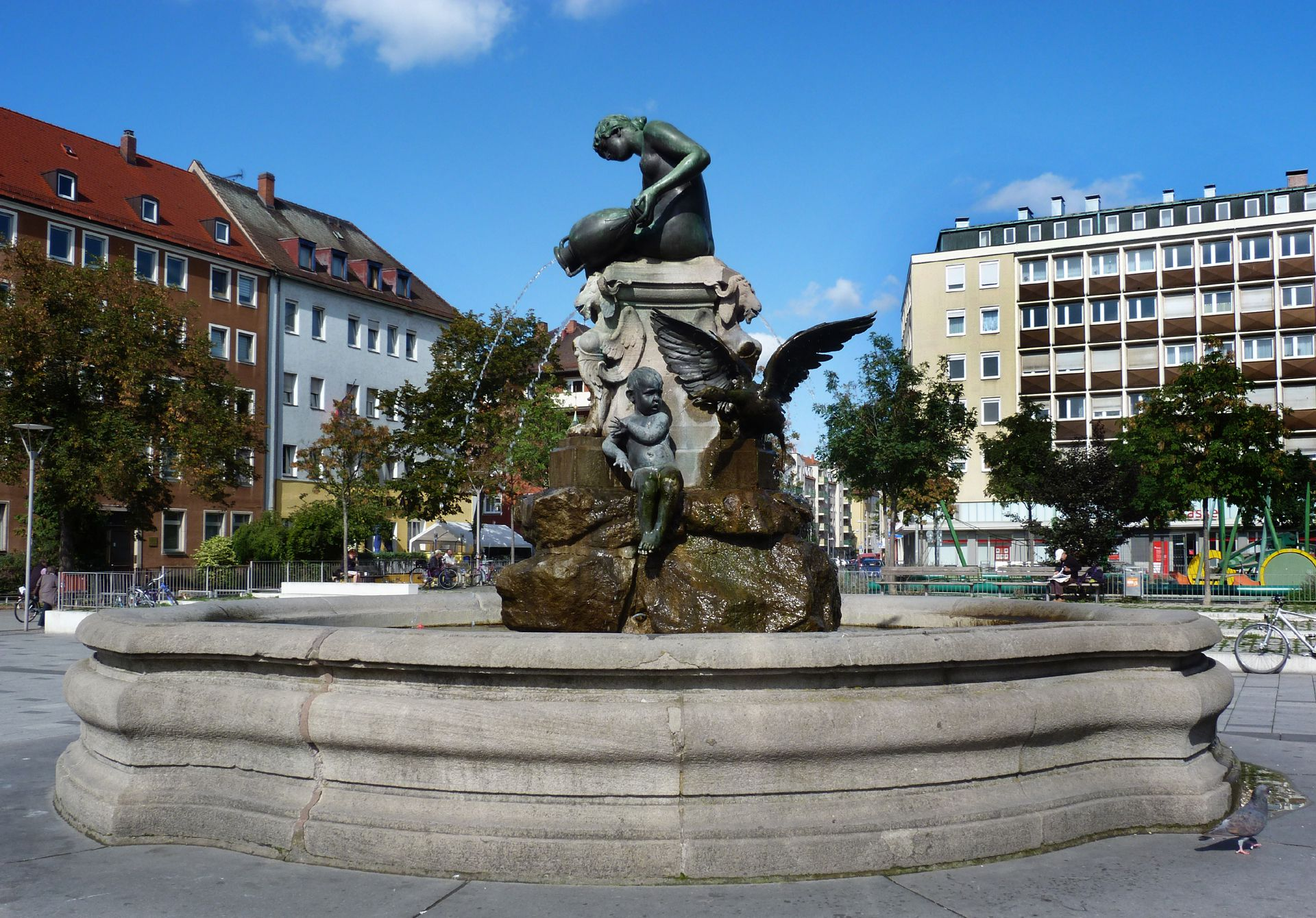 Nymphenbrunnen Gesamtansicht