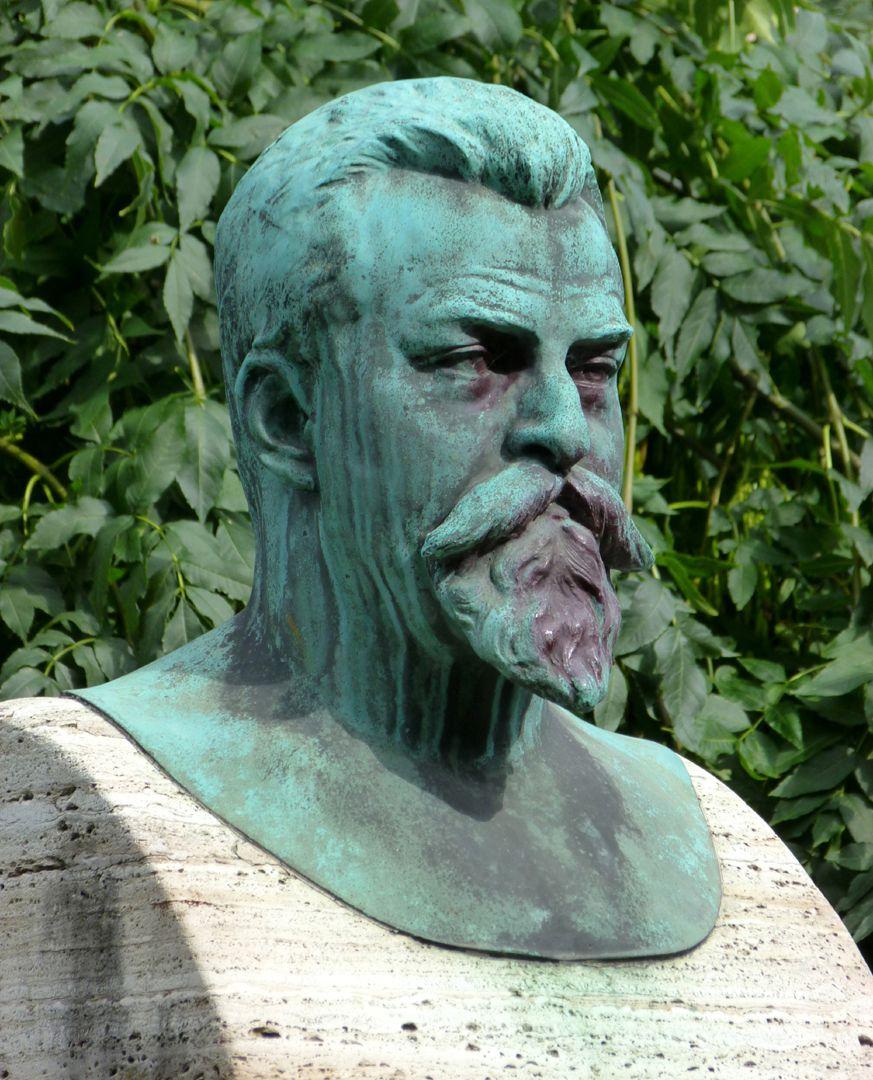 Sigmund-Schuckert-Denkmal Büste